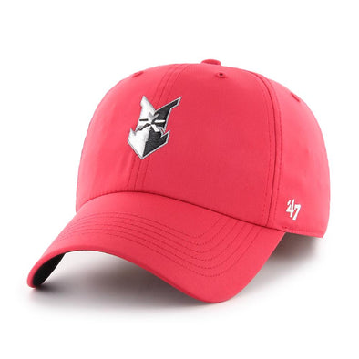 Indianapolis Indians '47 Red Repetition Clean Up Adjustable Cap