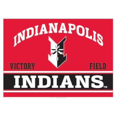 "Indianapolis Indians Red Arch 2""x3"" Magnet"