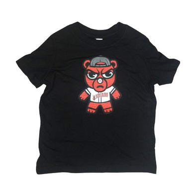 Indianapolis Indians Toddler Black Angry Rowdie Tee