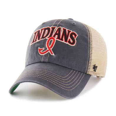 Indianapolis Indians '47 Vintage Navy Tuscaloosa Clean Up Adjustable Cap