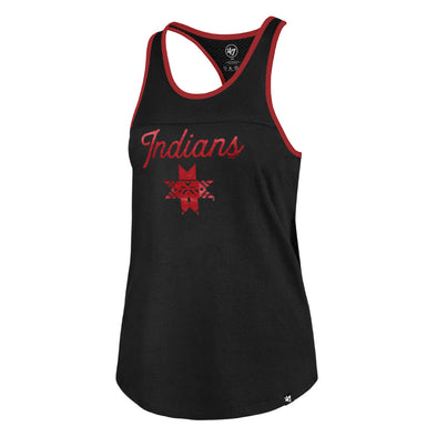 Indianapolis Indians '47 Women's Black Clutch Team Up Tank Top