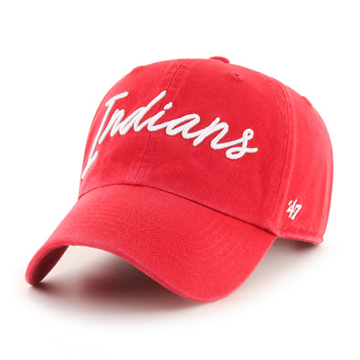 Indianapolis Indians '47 Women's Red Lyric Clean Up Adjustable Cap