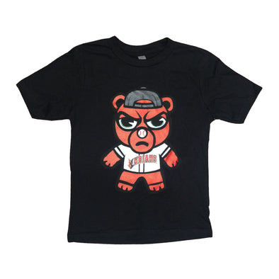 Indianapolis Indians Youth Black Angry Rowdie Tee