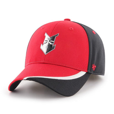 Indianapolis Indians '47 Youth Black Stitcher MVP Adjustable Cap