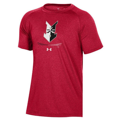 Indianapolis Indians Youth Red Under Armour Novelty Tee