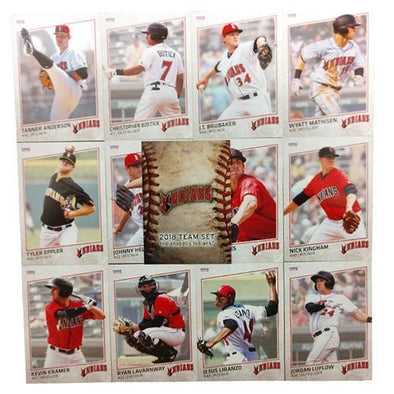 Indianapolis Indians 2018 Team Card Set