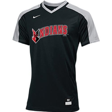 Indianapolis Indians Youth Black Nike Vapor Game Top Jersey