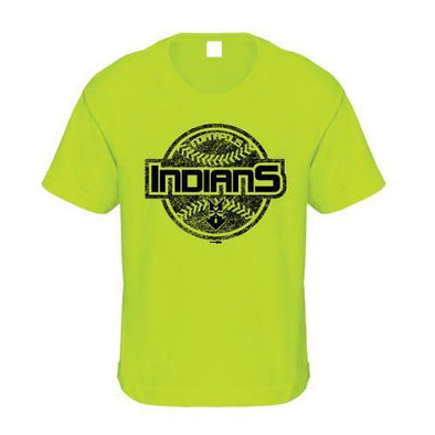 Indianapolis Indians Youth Lime Sheeran Tee