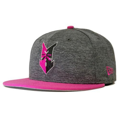 Indianapolis Indians Grey/Pink New Era Mother's Day 5950 Cap