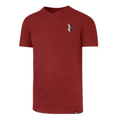 Indianapolis Indians '47 Red Grit Rundown Scrum V-Neck Tee