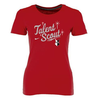 Indianapolis Indians Women's Nike Scarlet Talent Scout Cotton Tee