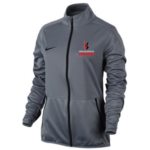 Indianapolis Indians Women's Grey Nike Rivalry Jacket