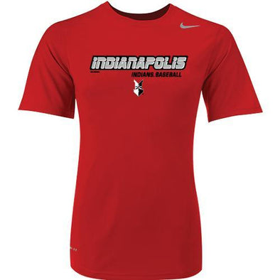Indianapolis Indians Scarlet Connect Nike Dri-FIT Tee