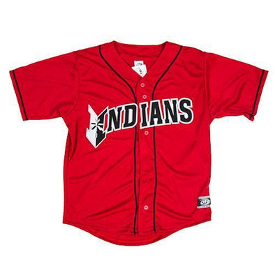 Indianapolis Indians Youth Red Replica Jersey
