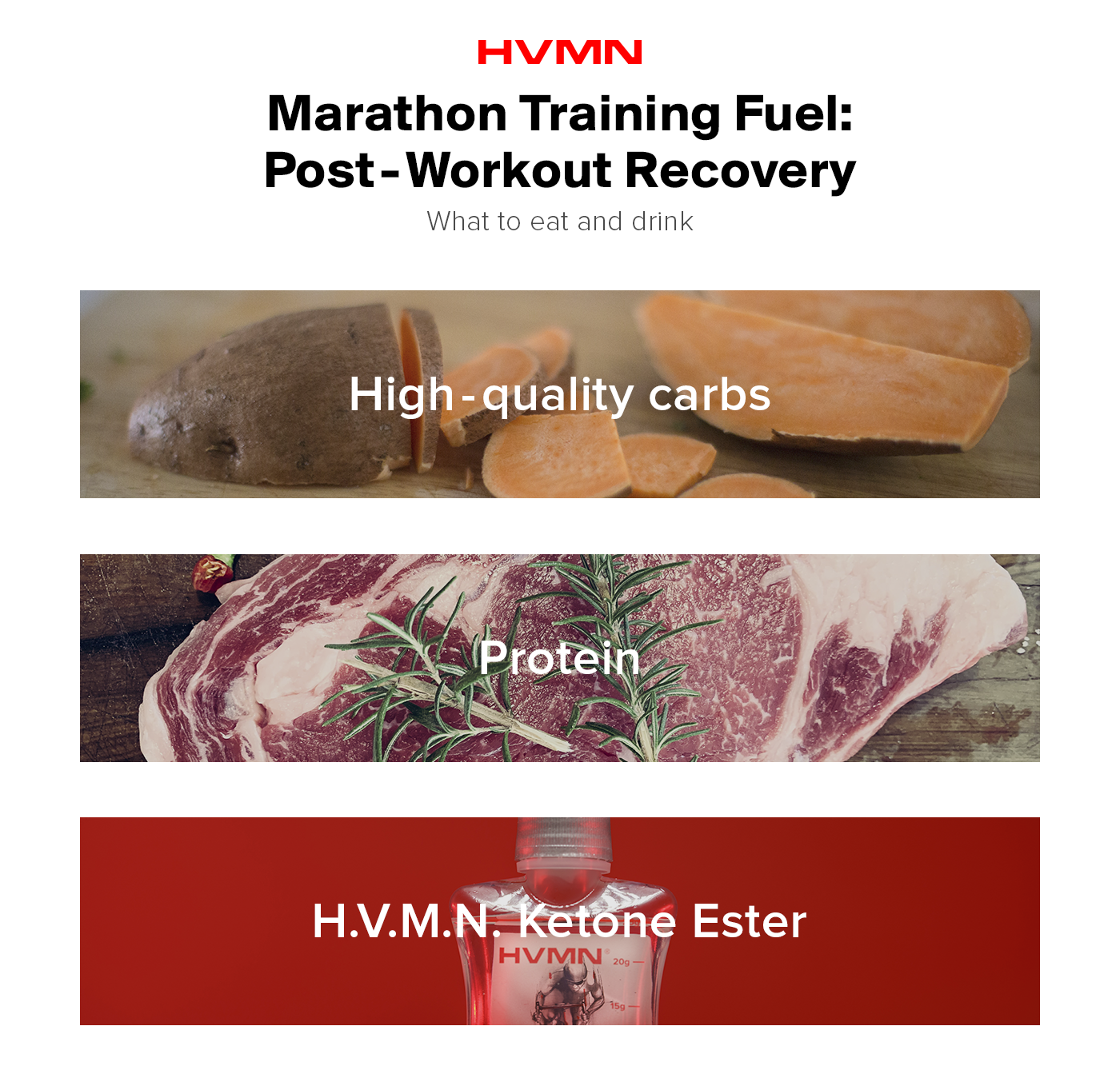 Post-workout nutrition strategies to recover right.