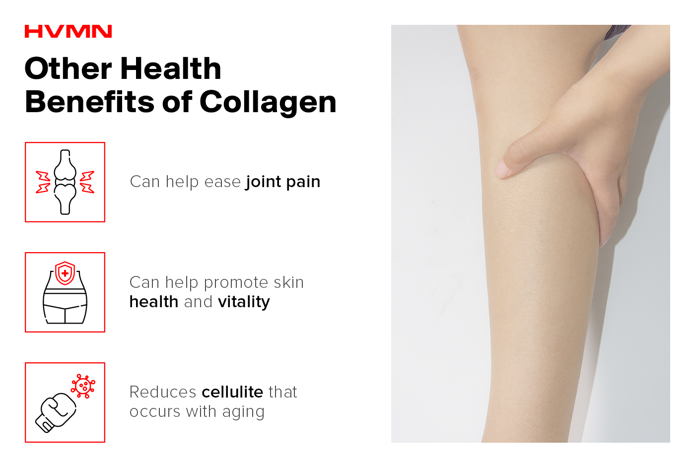 Other benefits of collagen.