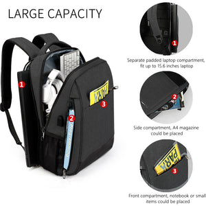 "TigerNu T-B3516 Anti-Theft 15.6"" Laptop Business Backpack"