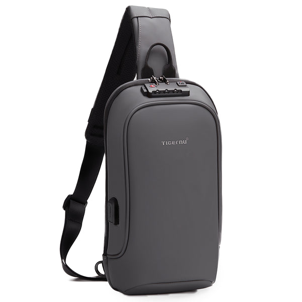 Tigernu T-S8102A Waterproof Crossbody Bag 9.7 inches with FREE Cable