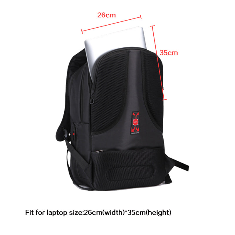 TigerNu T-B3032A 17 inches Anti-Theft Laptop Business Backpack School Bag w/ Free Lock