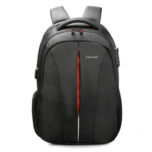 "TigerNu T-B3105A 15.6"" Built in TSA LOCK Mens Women Laptop Business School Bag Backpack"