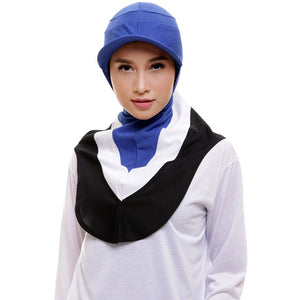 ATTIQA ACTIVE,  RUNNER TRI COLOUR SPORT HIJAB