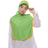 ATTIQA ACTIVE,  LONG RUNNER SPORT HIJAB (FUJI GREEN)