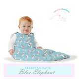 NEENAABOOBOO, SLEEP SACK BLUE ELEPHANT