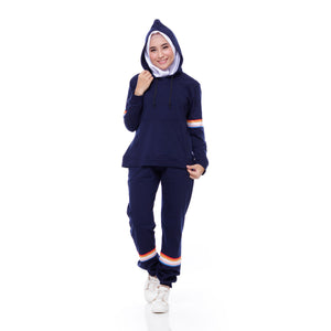 ATTIQA ACTIVE,  SPORTY GO-H  (NAVY) TRAINING SET