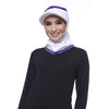 ATTIQA ACTIVE,  SHORT RUNNER SPORT HIJAB (WHITE)