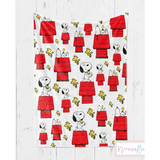 NEENAABOOBOO, LITTLE SNOOPY BLANKET