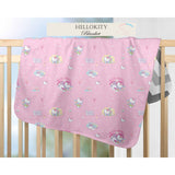 NEENAABOOBOO,  HELLO KITTY BLANKET