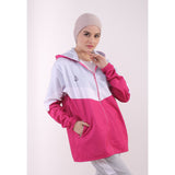 ATTIQA ACTIVE,  TRICOLOUR FLEECE JACKET , OUTERWEAR