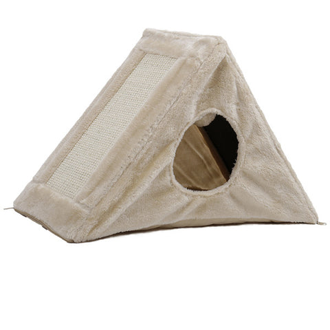 The Fur Pyramid | Warm House for Small Pet