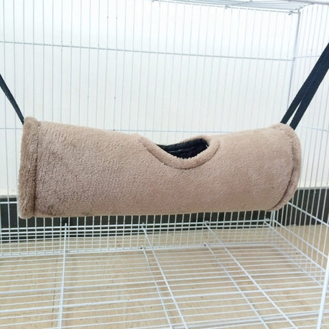 Tunnel Hammock With Top Hole for Small Pet