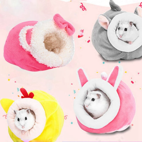 Cute Soft Animal Bed for Small Pet