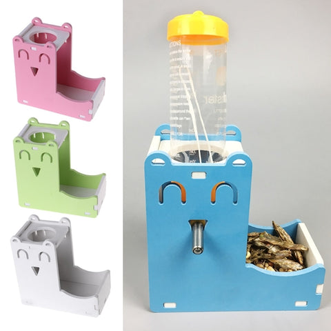 Drinking Bottle Holder And Food Dispenser | MyHamHam