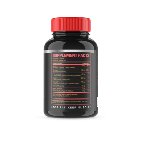 Fighters Core - Fat Loss and Muscle Building Supplement