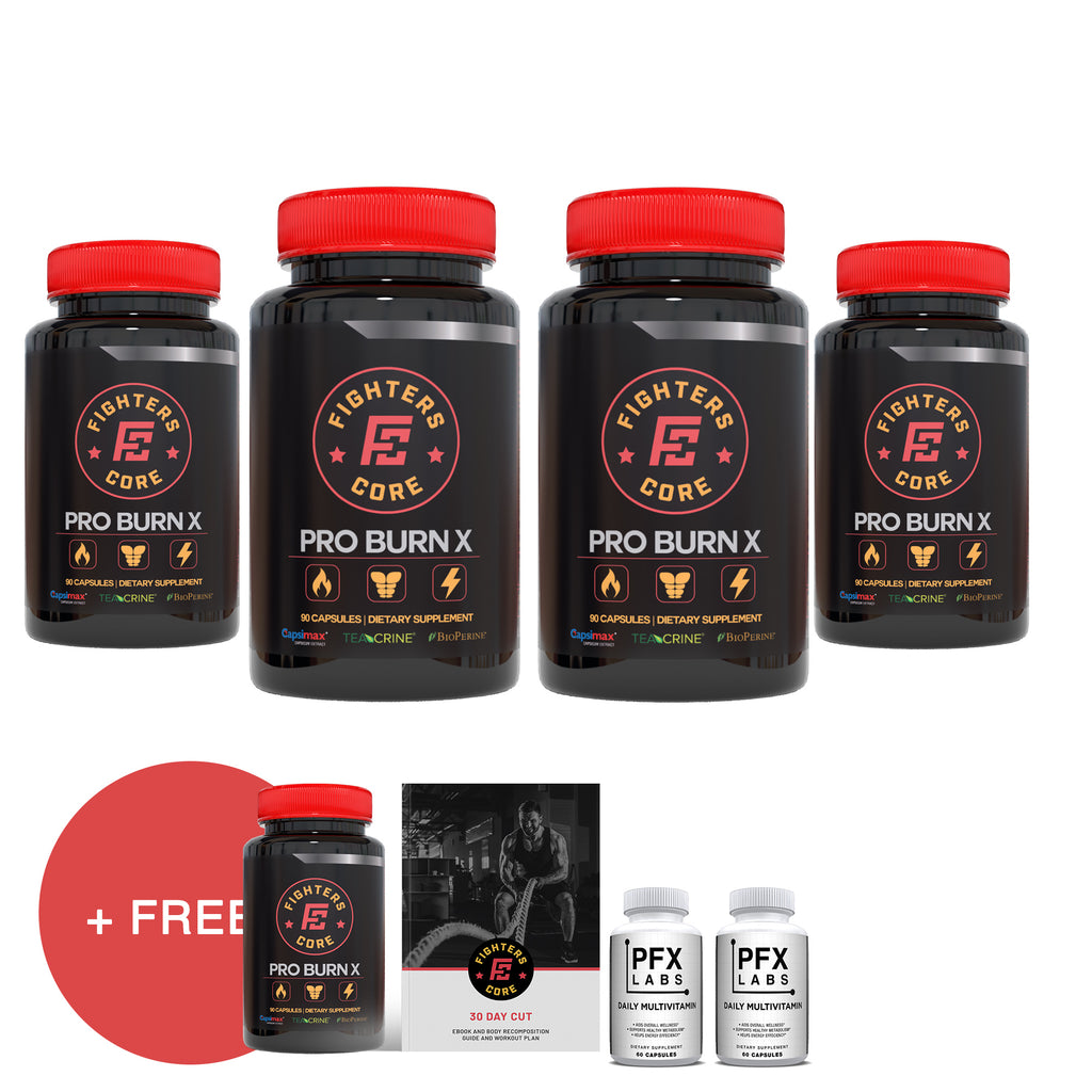 Body Recomposition Supplement Package (4 bottles + 1 free)