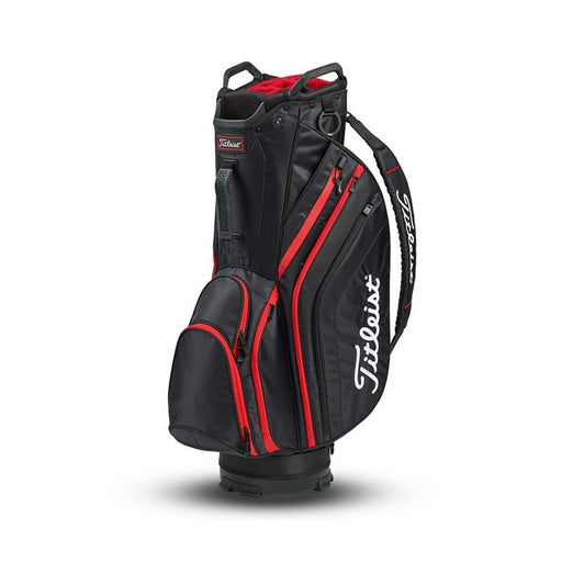 Titleist Lightweight Cart Bag Svart/Röd