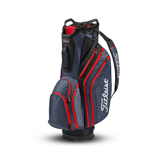 Titleist Lightweight Cart Bag Mörkgrå/Svart/Röd