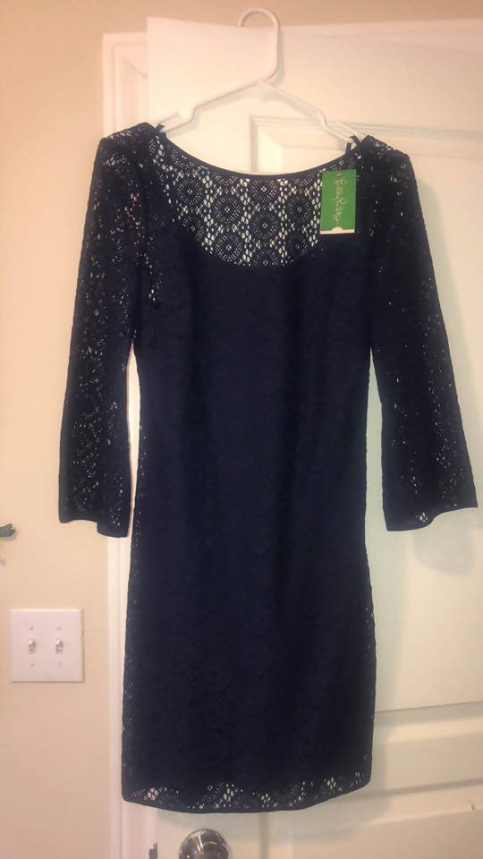 Size S Navy Lily Pulitzer Dress (With Tags)