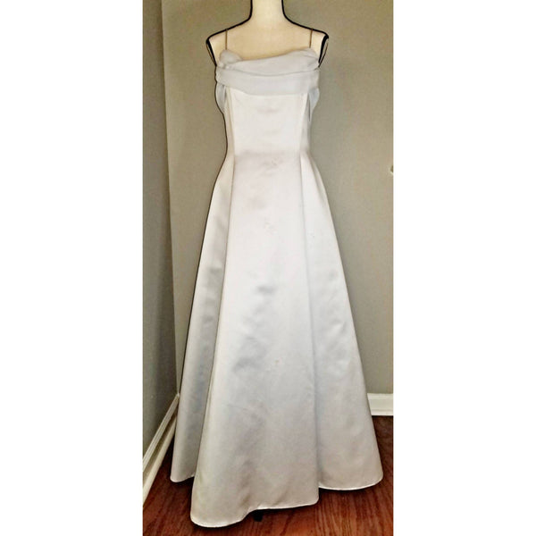 Powder Blue A-line Dress - Size 12