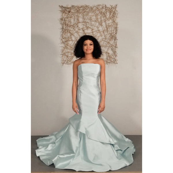 Andrea & Leo Couture Mermaid Dress - Size 8/10