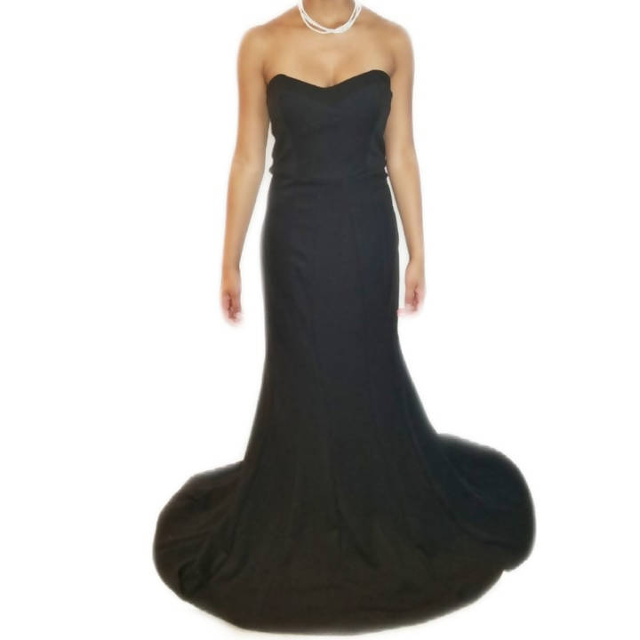 Timeless Glamour Strapless Mermaid Gown - Junior Size L