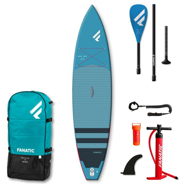 "Fanatic Ray Air Pure Edition 2021 Package -11'6"" or 12'6"""