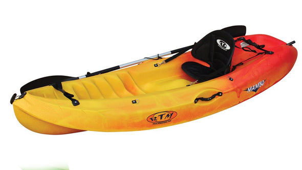 RTM Mambo Package (includes Paddle + Backrest)