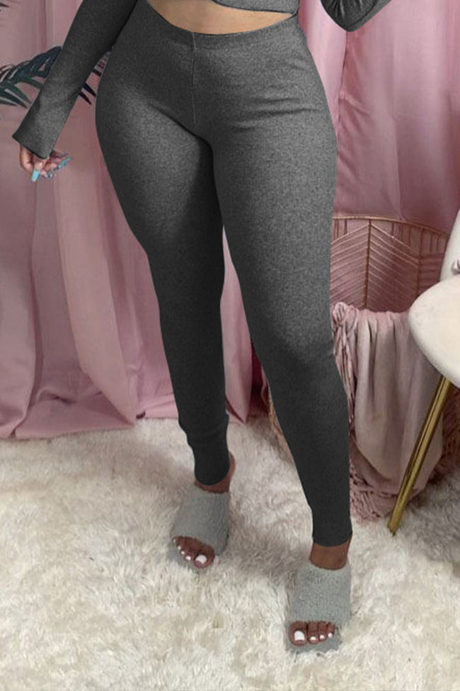Fashion slim classic trousers-Bottoms-Chicbela