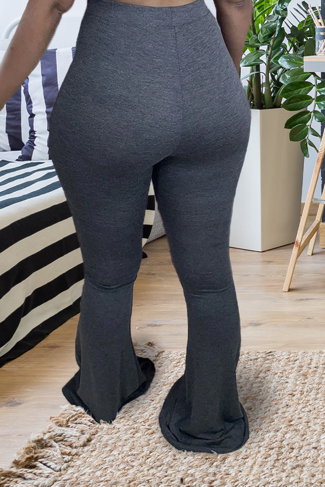 Plus Size Flared Multiple Color Pants-Bottoms>Pants>Casual-Chicbela