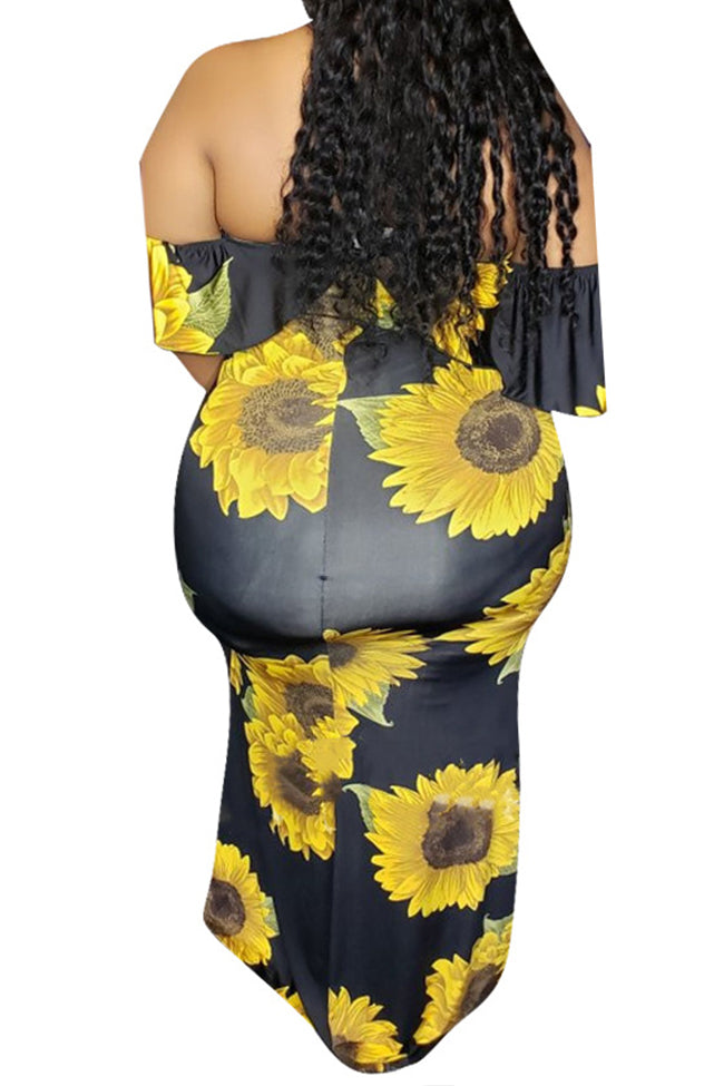 Sexy plus size dress-Dresses-Chicbela