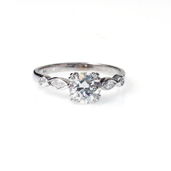 Replica Art Deco Engagement Ring #1305-13
